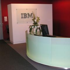 IBM Reception Desk