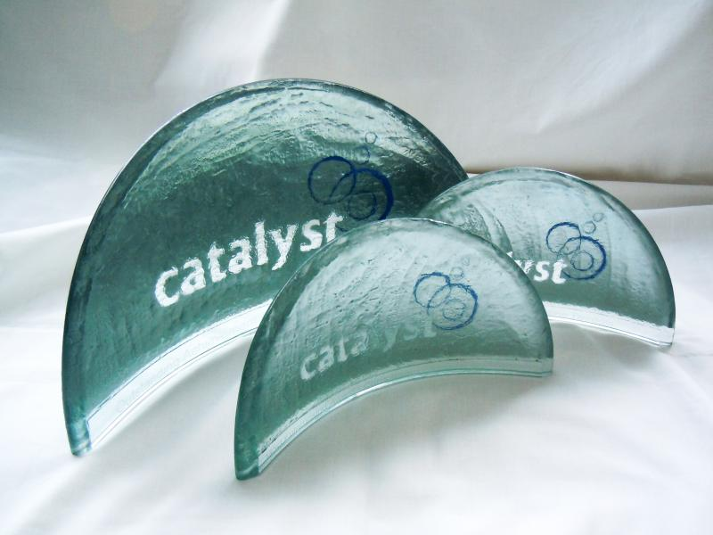 Carved Glass Awards - Catalyst