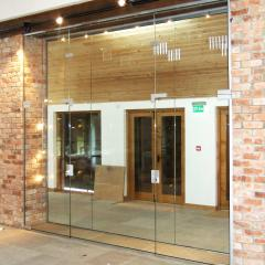 Frameless Door and Partition
