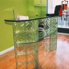 Green Glass Bar