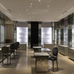 Glass Display Cases and Shelving