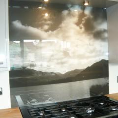 Photographic Kitchen Splashback