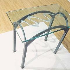 UV bonded table